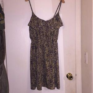 H & M strapped summer dress